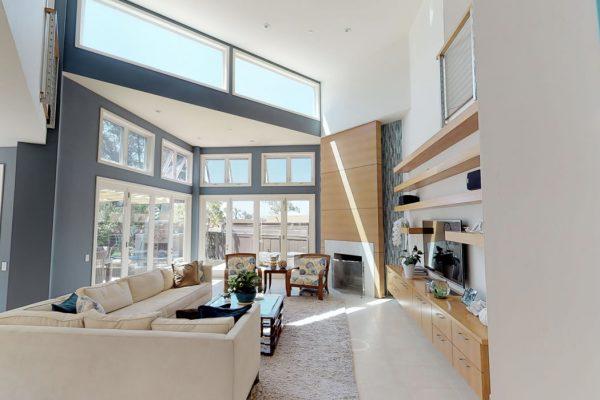 Living room area, ground floor.